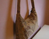 Tuscan chenille bag of Italian washed chenille upholstery fabric