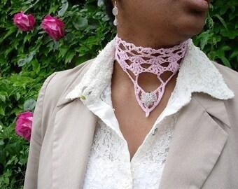 Josephine - lace chocker crochet pattern