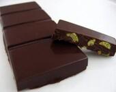 Wasabi Pea Crunch Dark Chocolate Bar vegan