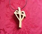 Wooden pectoral cross