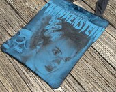 The Bride of Frankenstein Recycled T-shirt Tote Bag