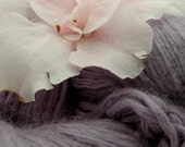 Lavender Angora Blend Recycled Yarn 190 Yards