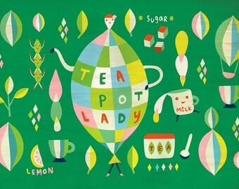 Teapot Lady's party