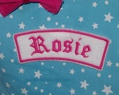 Old english Name Patch