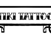 Tattoo Name Patch extra large size