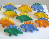 Custom Order Dinosaur Drawer Knobs - cast recycled metal