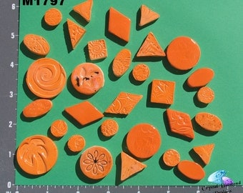DO DADS - Handmade Kiln Fired Ceramic Mosaic Tiles  M1797