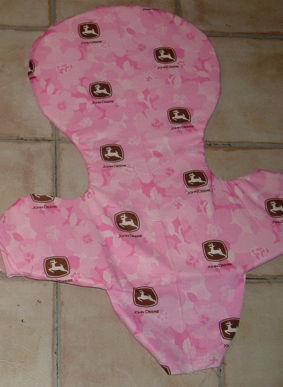 Pink John Deere High Chair Cover Peg Perego Prima Pappa Can Do