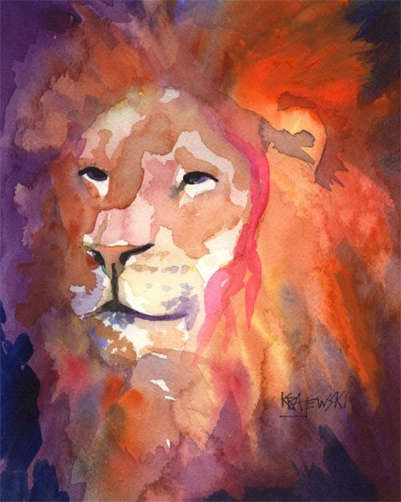 Painting a Lion