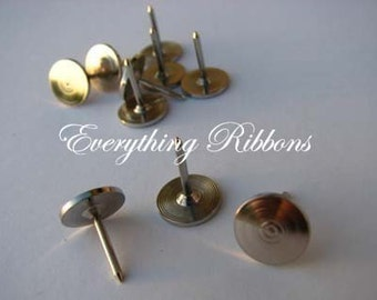 25 Thumb Tacks for Fabric Covered Buttons Push Pins - SEE COUPON