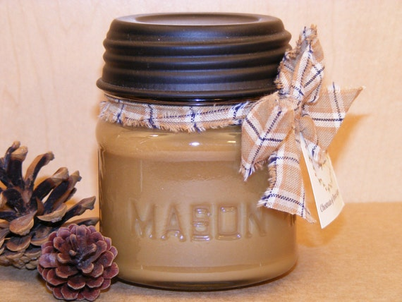 Chestnuts and Brown Sugar.....8oz. PANTRY JAR SOY CANDLE