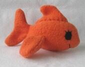 Fleece Goldfish Toy