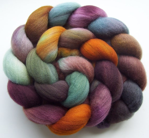 Surrender - Hand dyed Merino Combed Top - 4oz