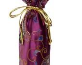 Rose Vines Wine Bag