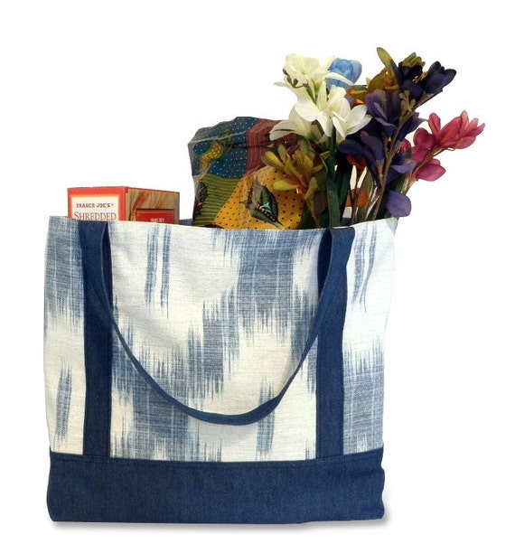 Southwest Blues Reusable Shopping Bag