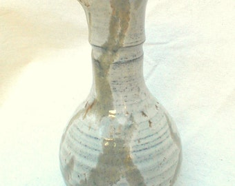 Hand Thrown Pitcher Small great for SAKE or Cordial or Cream  Lovely Glaze and Workmanship VTG