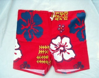 Rare VTG SWIM TRUNKS Cal Surf Board Shorts sz 36 to 39 unlined Hard to Find from Private Collection