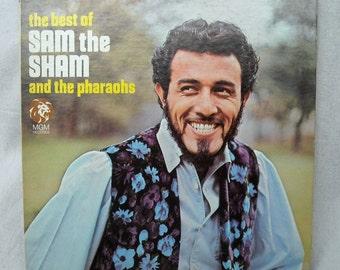 Sam the Sham and the Pharoahs The Best Of LP Vinyl SE 4422 Stereo MGM records