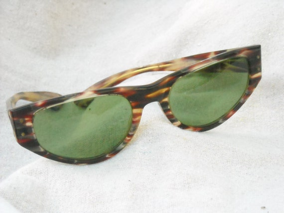 Reserved for LindaLou Ray Ban Sunglasses early 60s late 50s possibly VERY COOL Torti Cat Eye named PLAYTIME