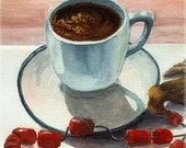 Art print - Greek coffee