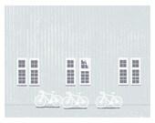Three Bikes Print