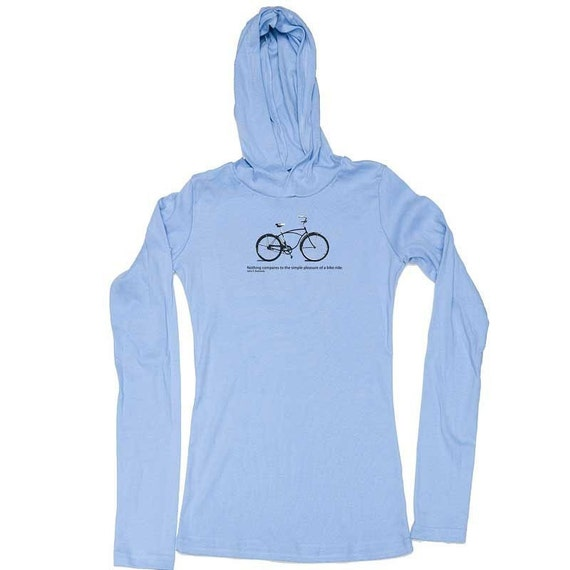 Bicycle Quote - Women's T-shirt Hoodie