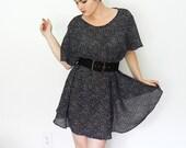 polka-dot .vintage. tunic/dress
