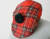 plaid .vintage. (Scottish) hat