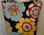 Retro Flowers Diaper Bag\/ Purse