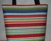 Summer Stripe Diaper Bag\/ Purse