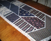 Table runner from Gunne Sax fabrics for Susan