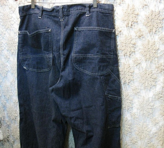 RESERVED 40s 50s Lee Work Jeans blue denim workwear