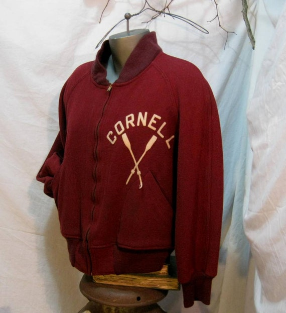 Cornell Champion Runner Rowing  Jacket Go Big Red