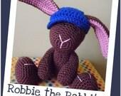 Robbie - amigurumi crochet pdf pattern