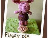 Piggy pie - amigurumi crochet pdf pattern