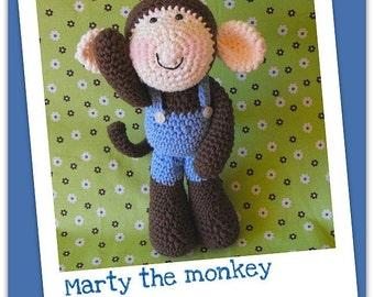 Marty - amigurumi crochet pdf pattern