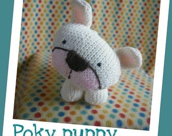 Poky puppy - amigurumi knit pdf pattern