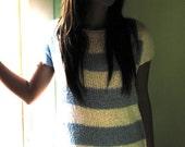 Oishii Gossamer Pure Cotton knit mini dress