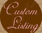 Custom Order for sabrinaann14