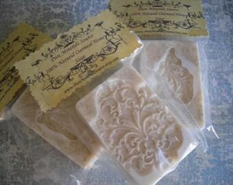 Oatmeal Honey Soap, Vegetarian, Gluten Free, All Natural, Chemical Free