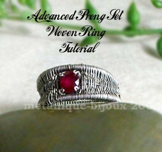 Advanced Woven Prong Set Ring Tutorial