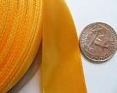 Golden Yellow Ribbon 1 inch Wide - bb59
