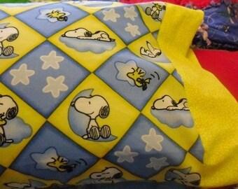 NEW  SLEEPING SNOOPY  Kids / Travel Pillowcase