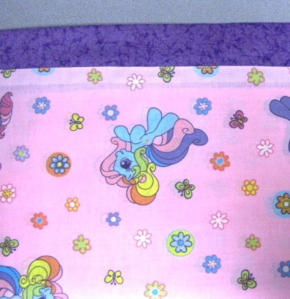 My Little Pony..  limited qty available  MINI Pillowcase kids/travel pillowcase