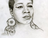Commission a drawing from your photos - custom original artwork, sketch, portrait on 9x12 archival paper