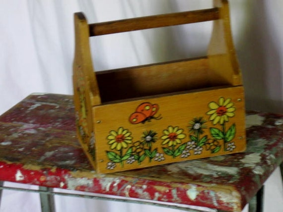 Vintage Cute Little Wooden Box