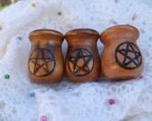 Pentagram Candle Holders