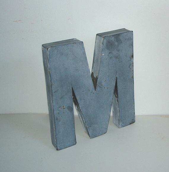Vintage Letter M 62