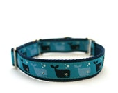 "3/4"" martingale collar A Whales Tale martingale dog collar"