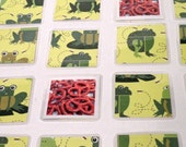Puzzle and Pairs....2 games in 1...fun frogs and photographs